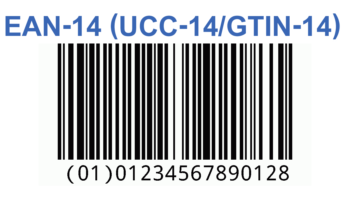 Ean 14 Ucc 14 Gtin 14 Free Barcode Generator With Bar Width Reduction Vector Pdf Ai Eps