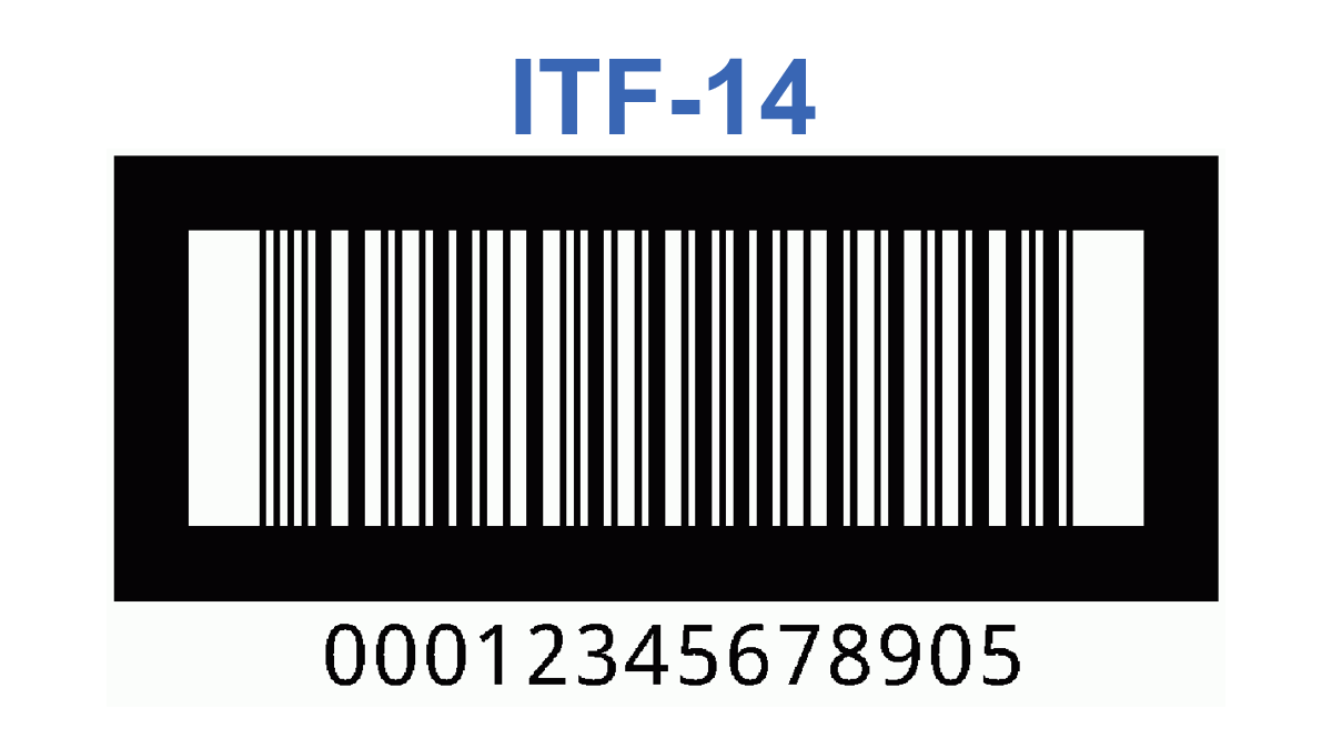 ITF-14 free barcode generator with bar width reduction (vector PDF